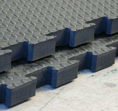 Interlocking 25mm Rubber Topped Lightweight Gym Mat from Gym Mats Plus