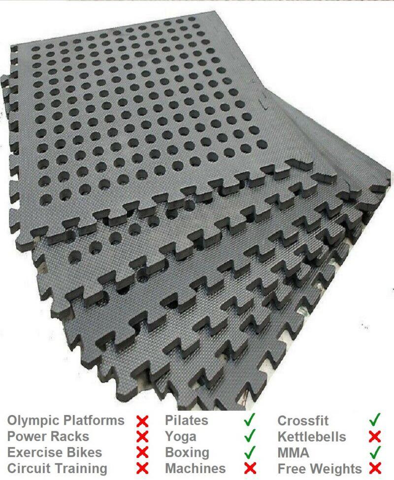 11mm Interlocking Lightweight EVA Gym Mat from Gym Mats Plus