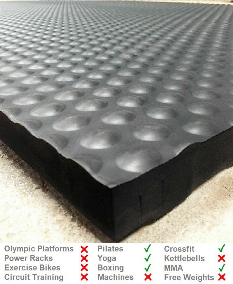 34mm Comfort Lightweight EVA Gym Mat