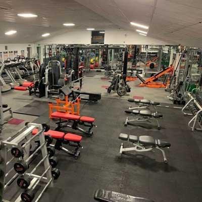 Interlocking 500 x 500mm Rubber Gym Mats